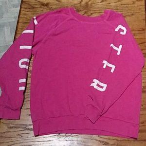 Pink holister sweatshirt